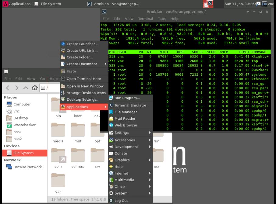 Quick setup of VNC server on headless machines (debian)